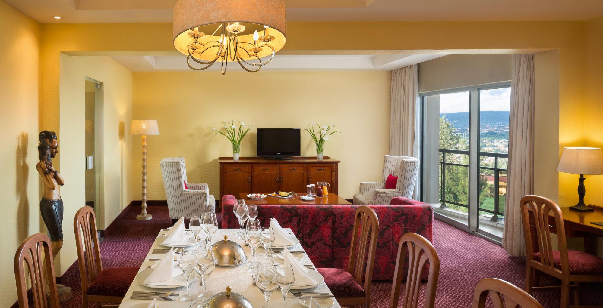 Hotel Mille Collines Rwanda Living Room