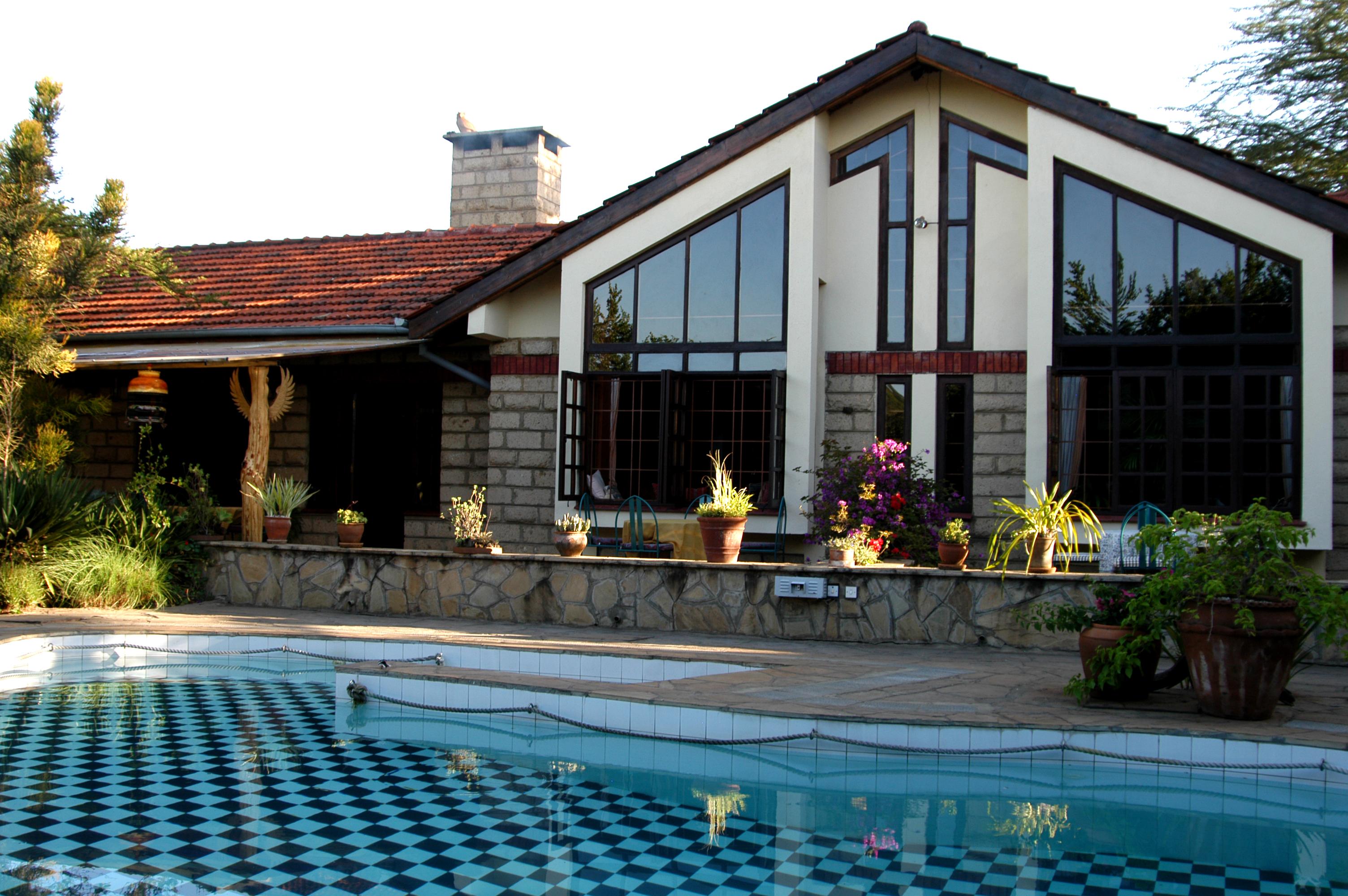 Macushla House Kenya Exterior