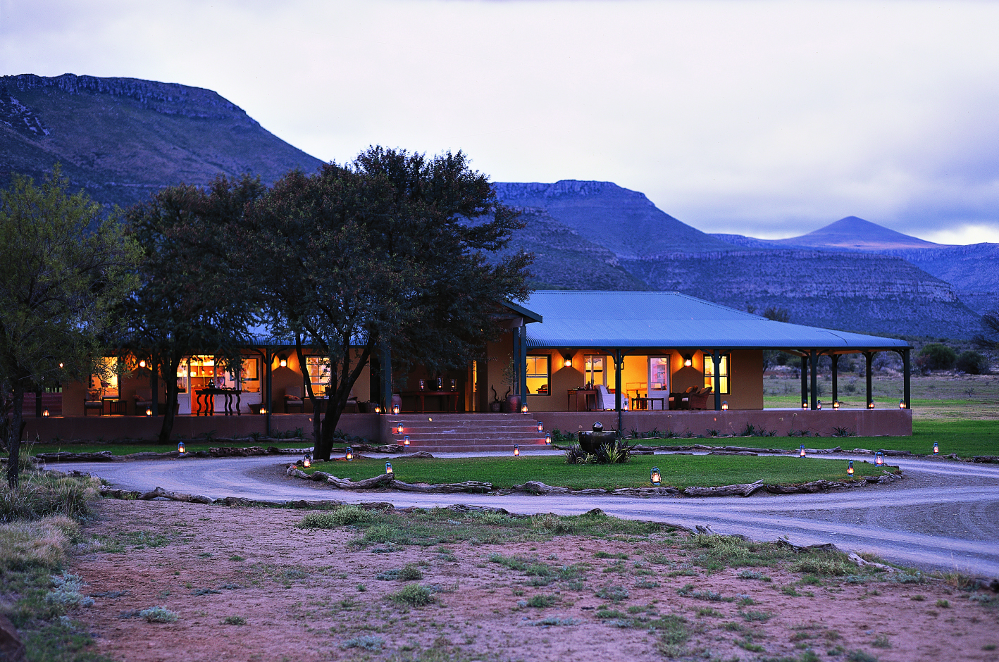 View of Karoo Lodge, South Africa