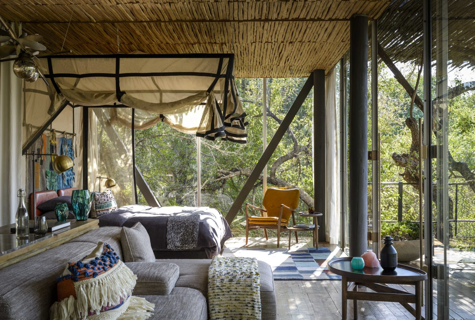 Singita Sweni South Africa Lounge