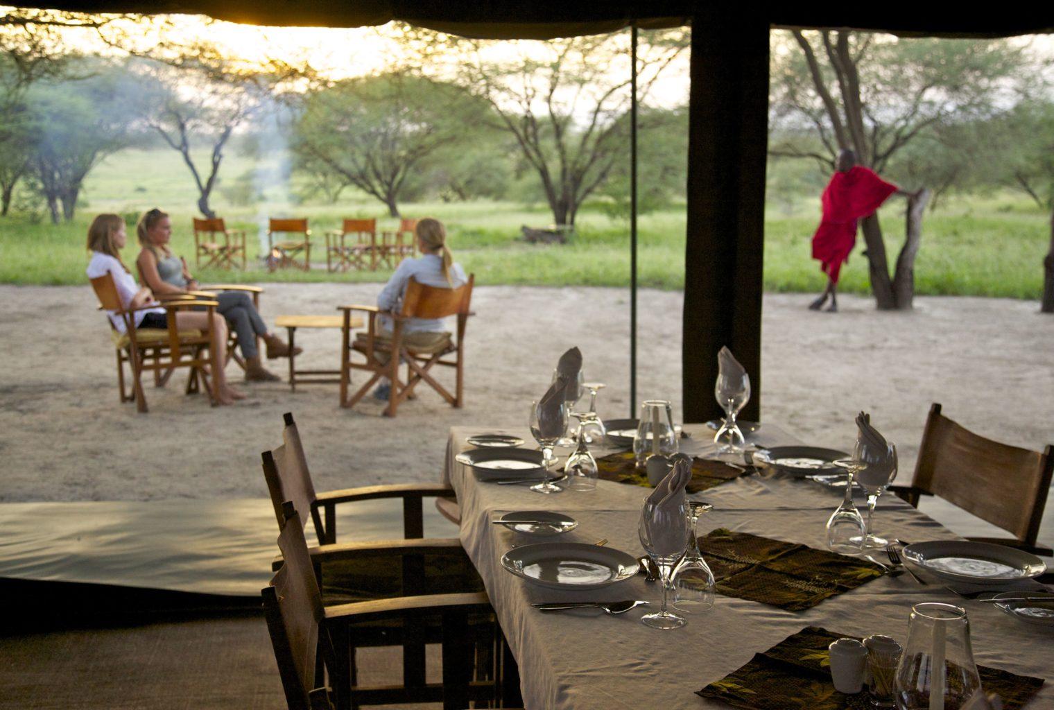 Manyara Ranch Tanzania Interior View