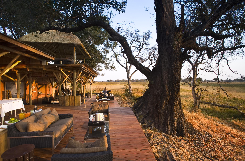 Xudum Okavengo Delta Lodge Botswana Bathroom Deck