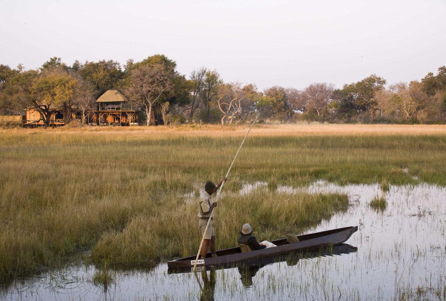 Xudum Okavengo Delta Lodge Botswana Boating