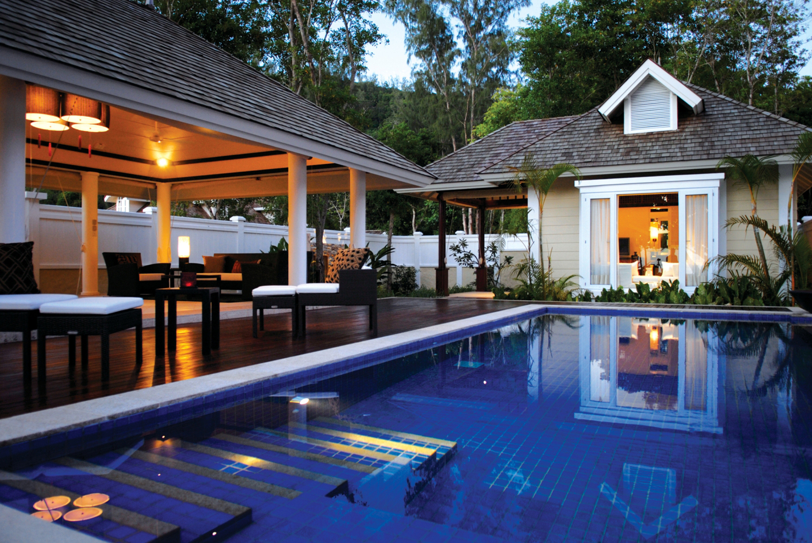 Banyan Tree Hotel Seychelles Pool
