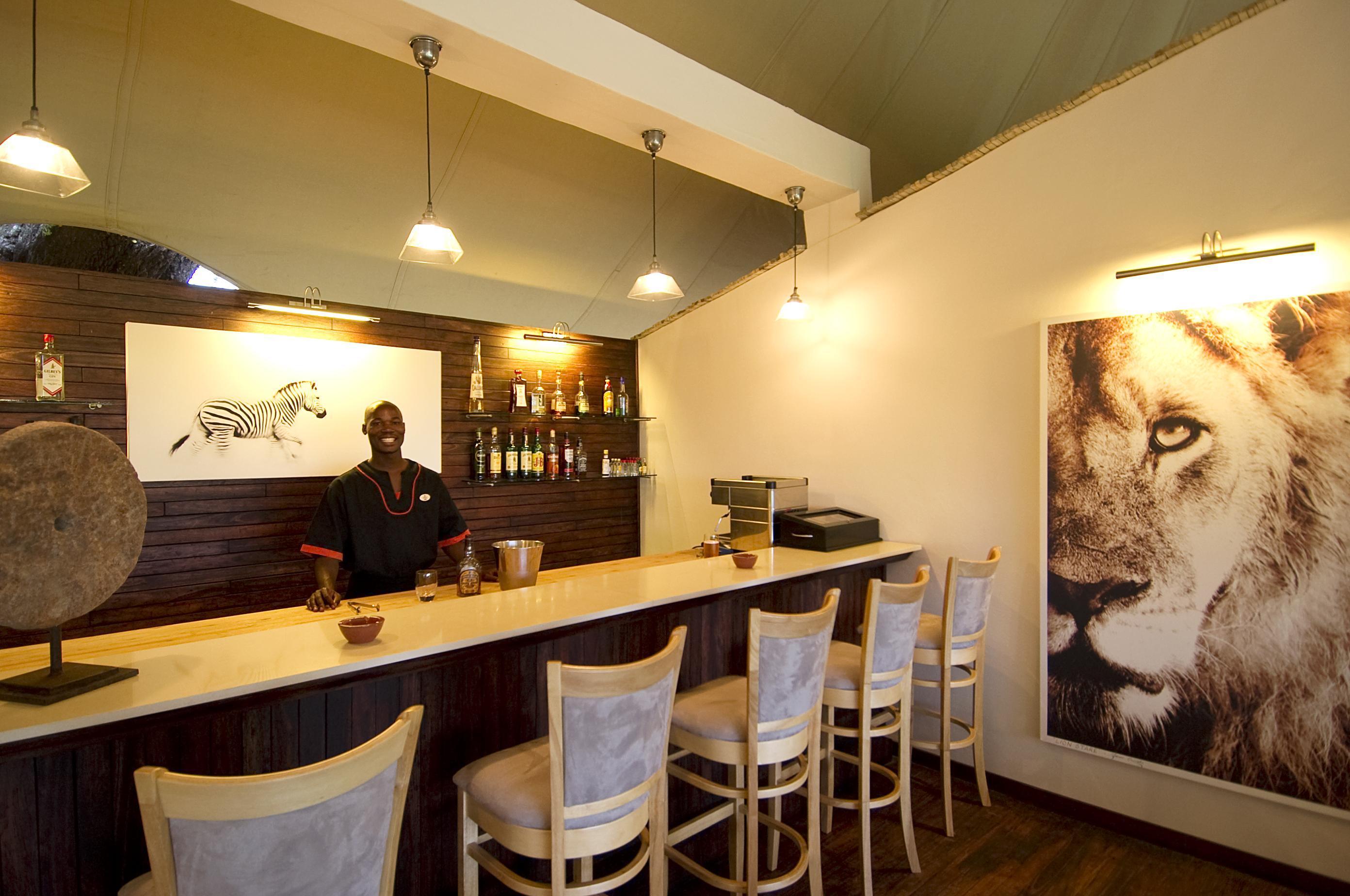 Stanleys Camp Botswana Bar