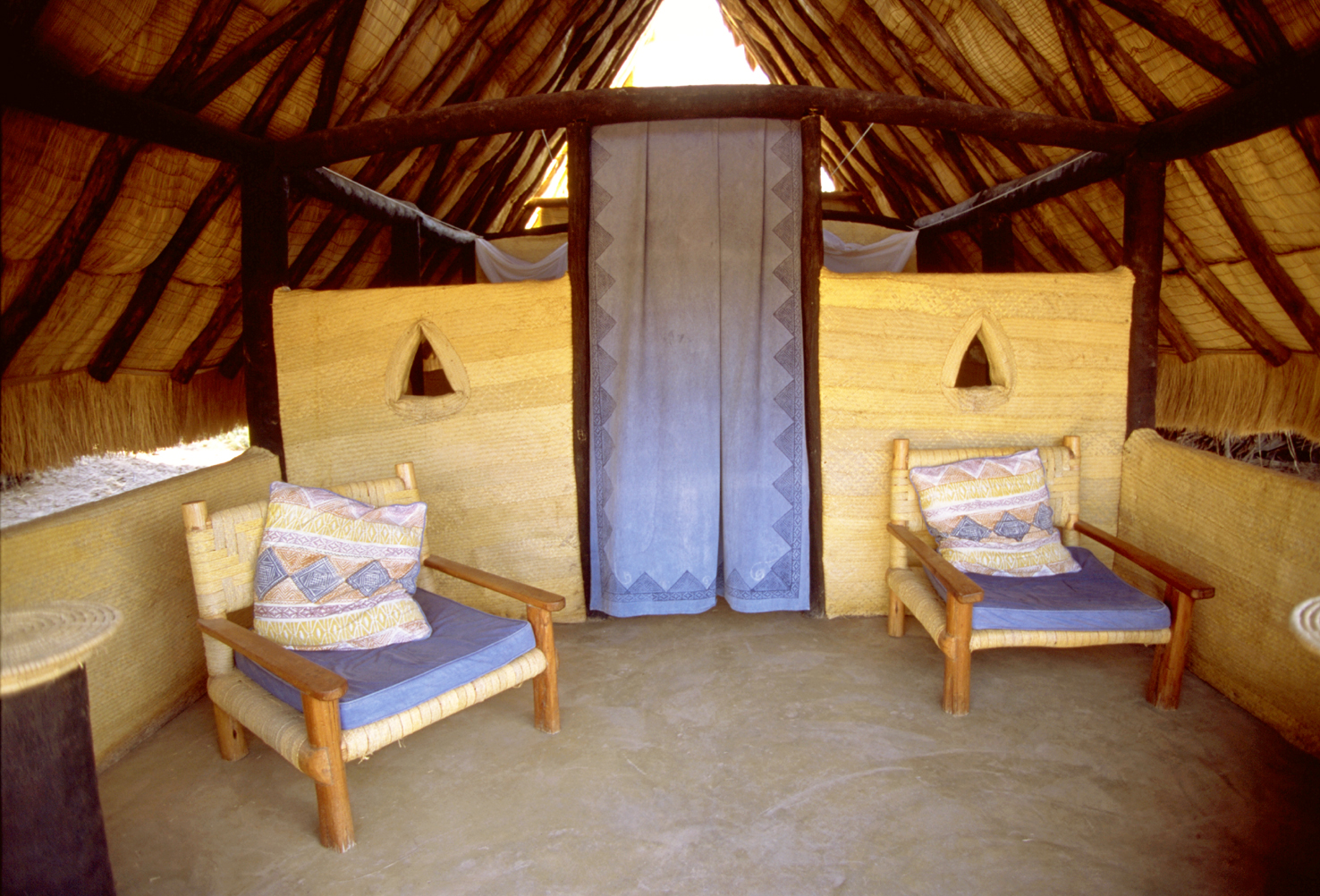 Kalacha Kenya Interior Veranda