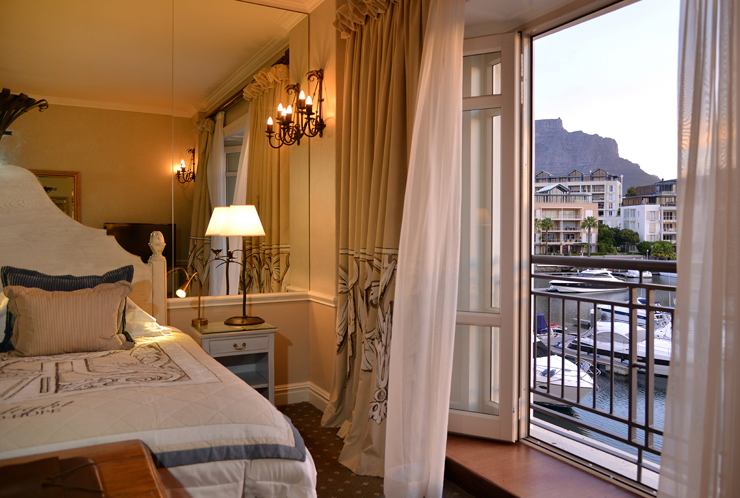 Cape-Grace-South-Africa-Bed-View