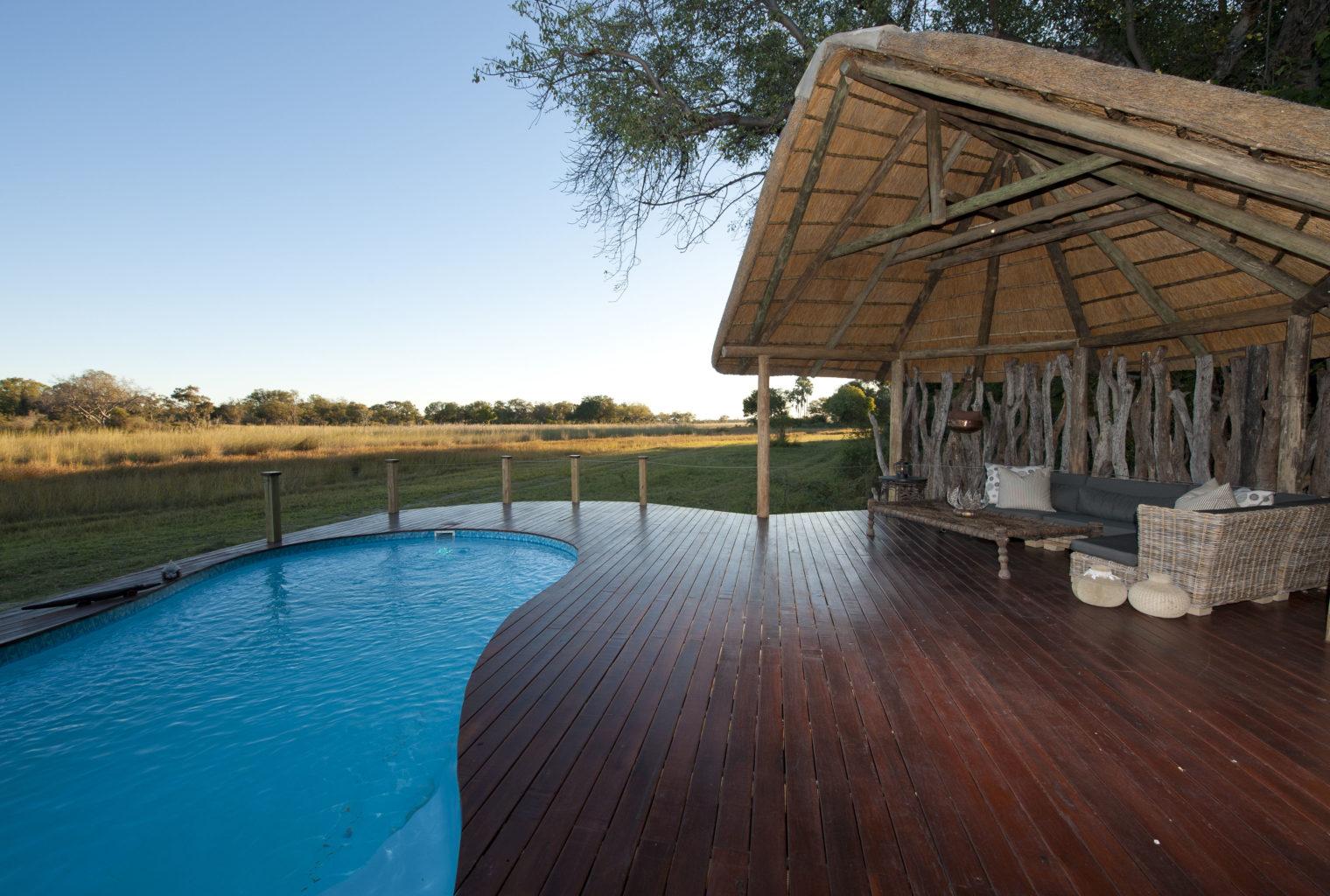 Chitabe Ledibe Camp Botswana Pool