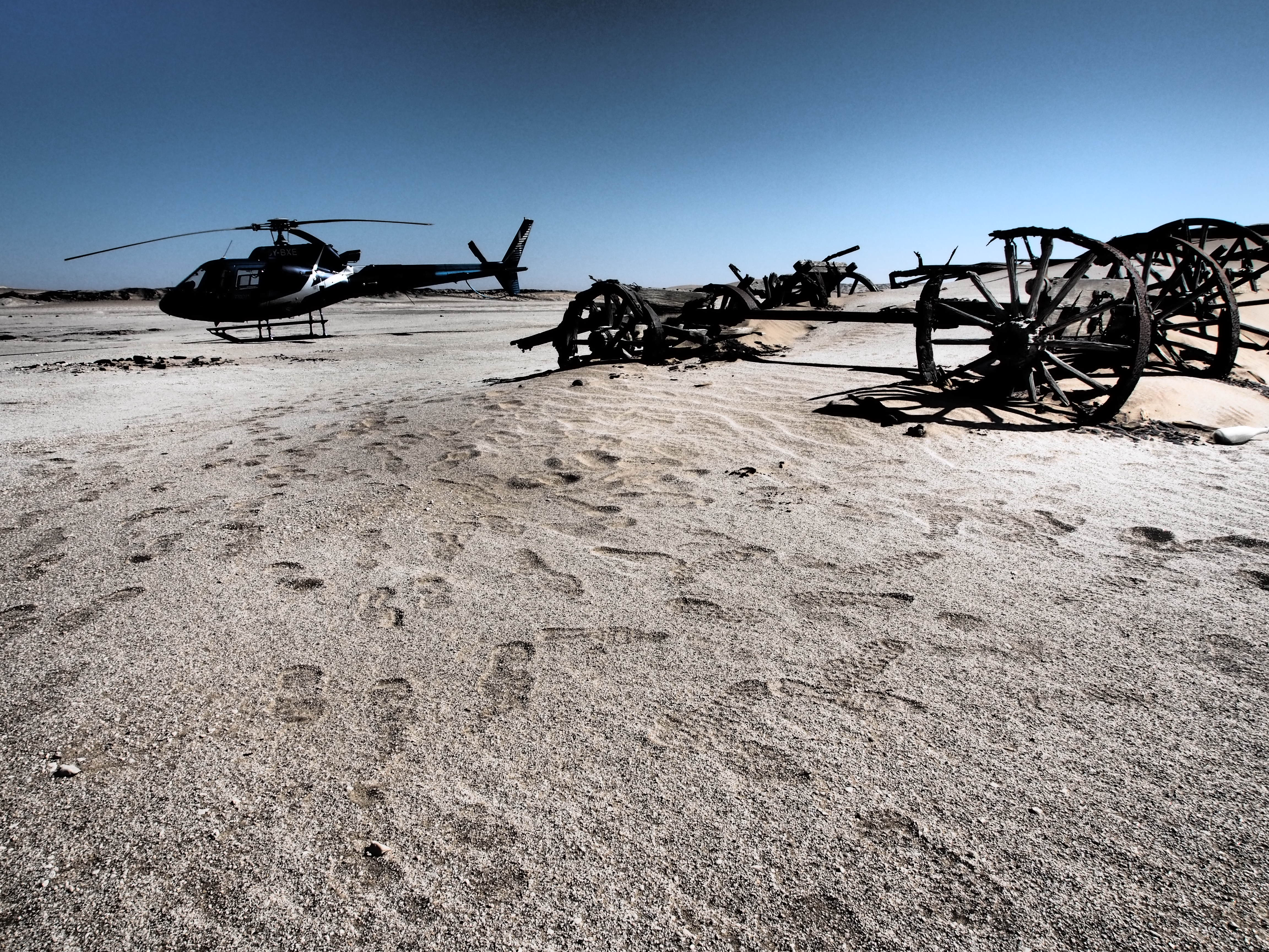 Namibia Helicopter