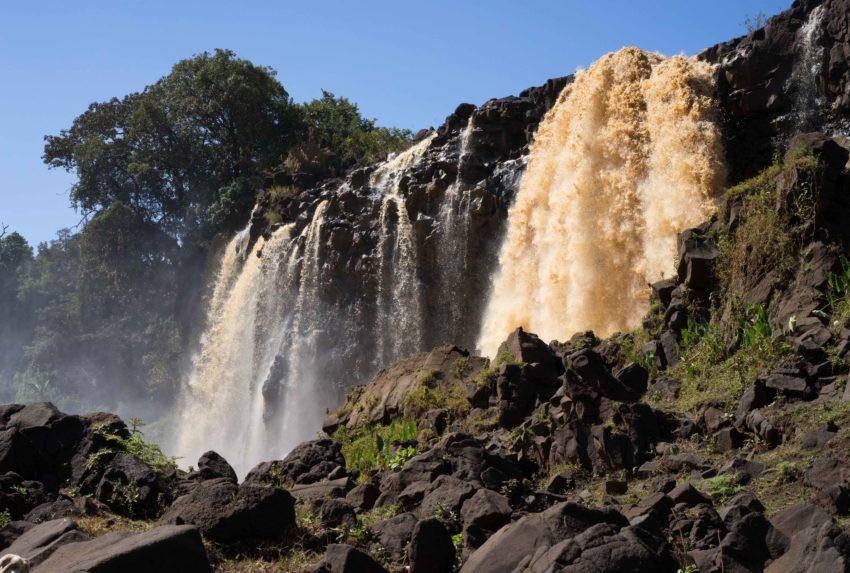 Bahir Dar Ethiopia Waterfall
