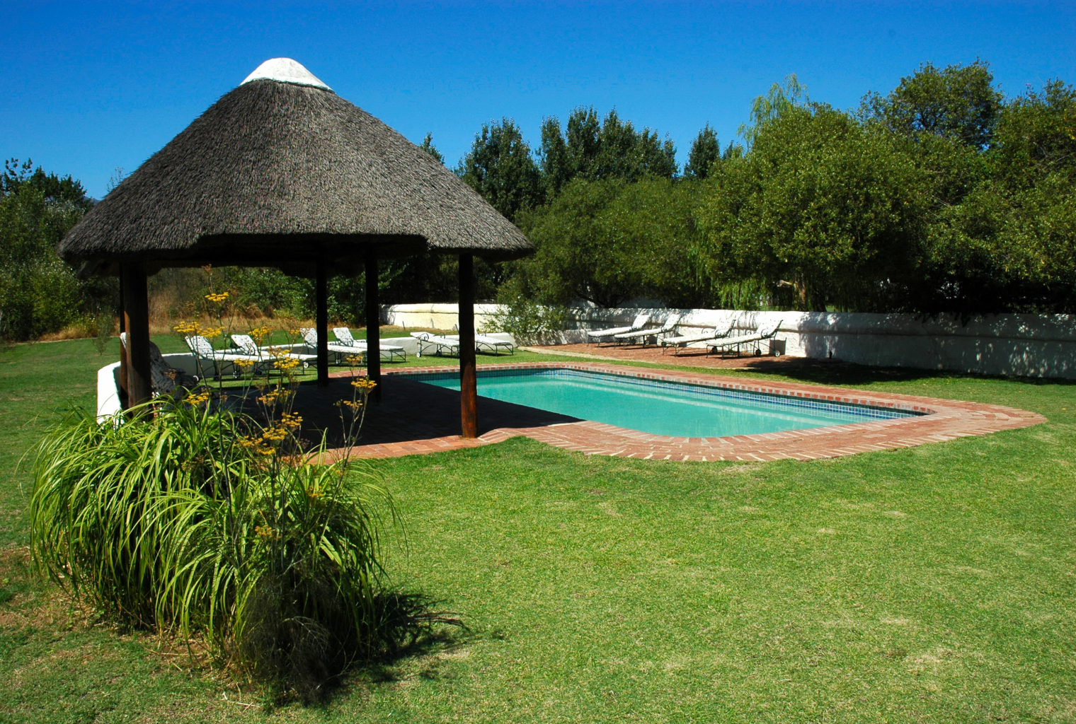 Roggeland Country House, South Africa, Pool Area