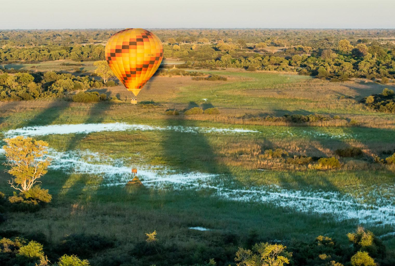 Vumbura_Plains_Camp-Botswana Hot Air Baloon