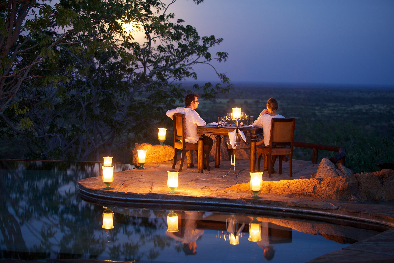 Elsa's-Kopje-Camp-Kenya-Romantic Dinner