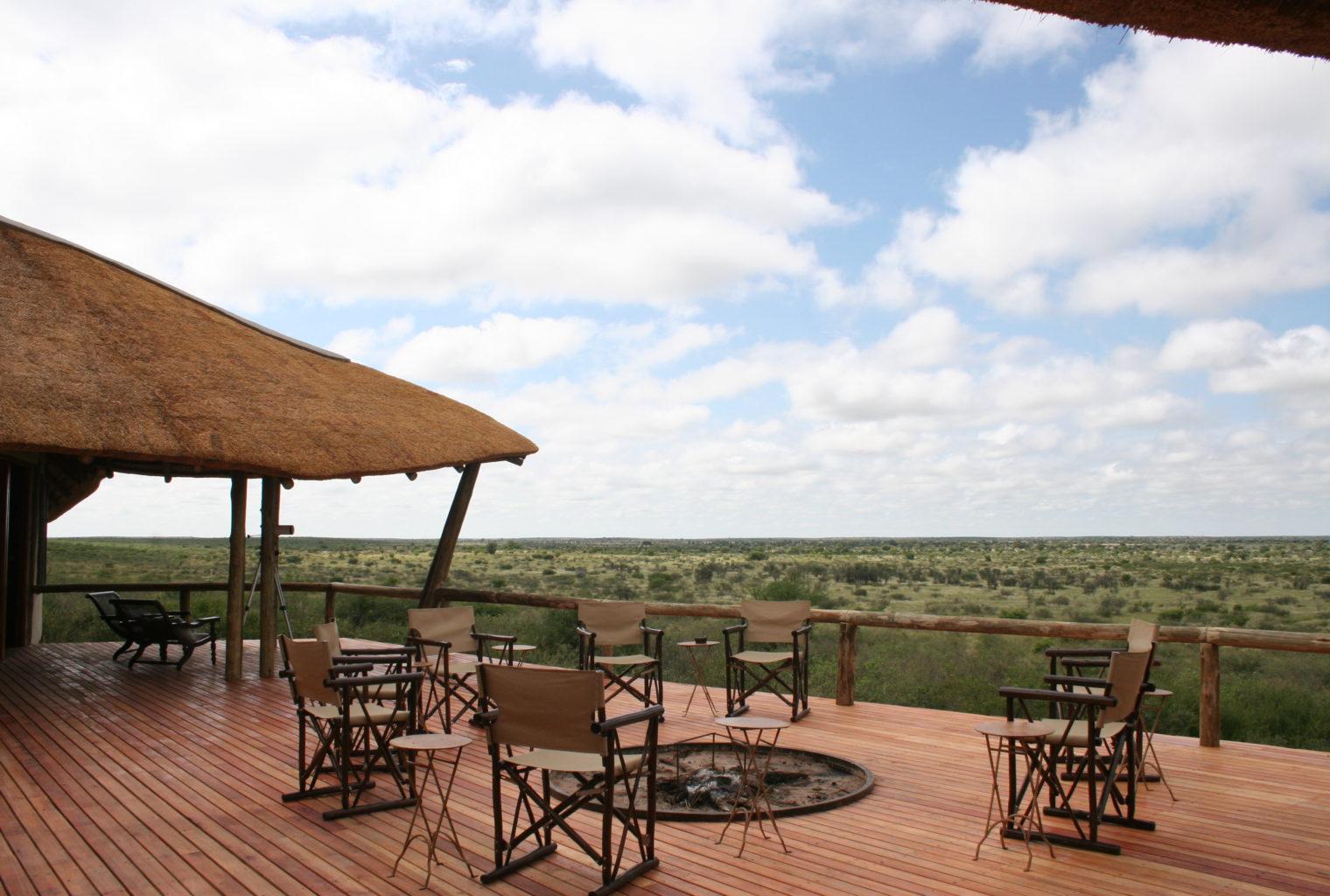 Tau Pan Botswana View