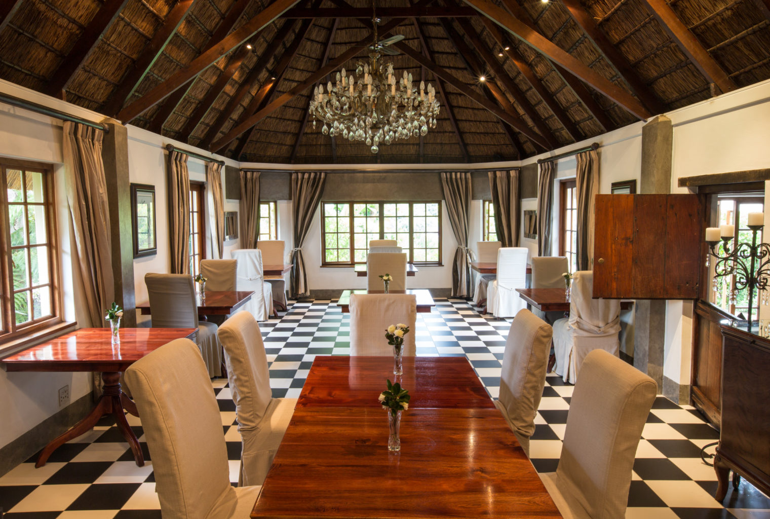 Hunters Country House South Africa Dining Room