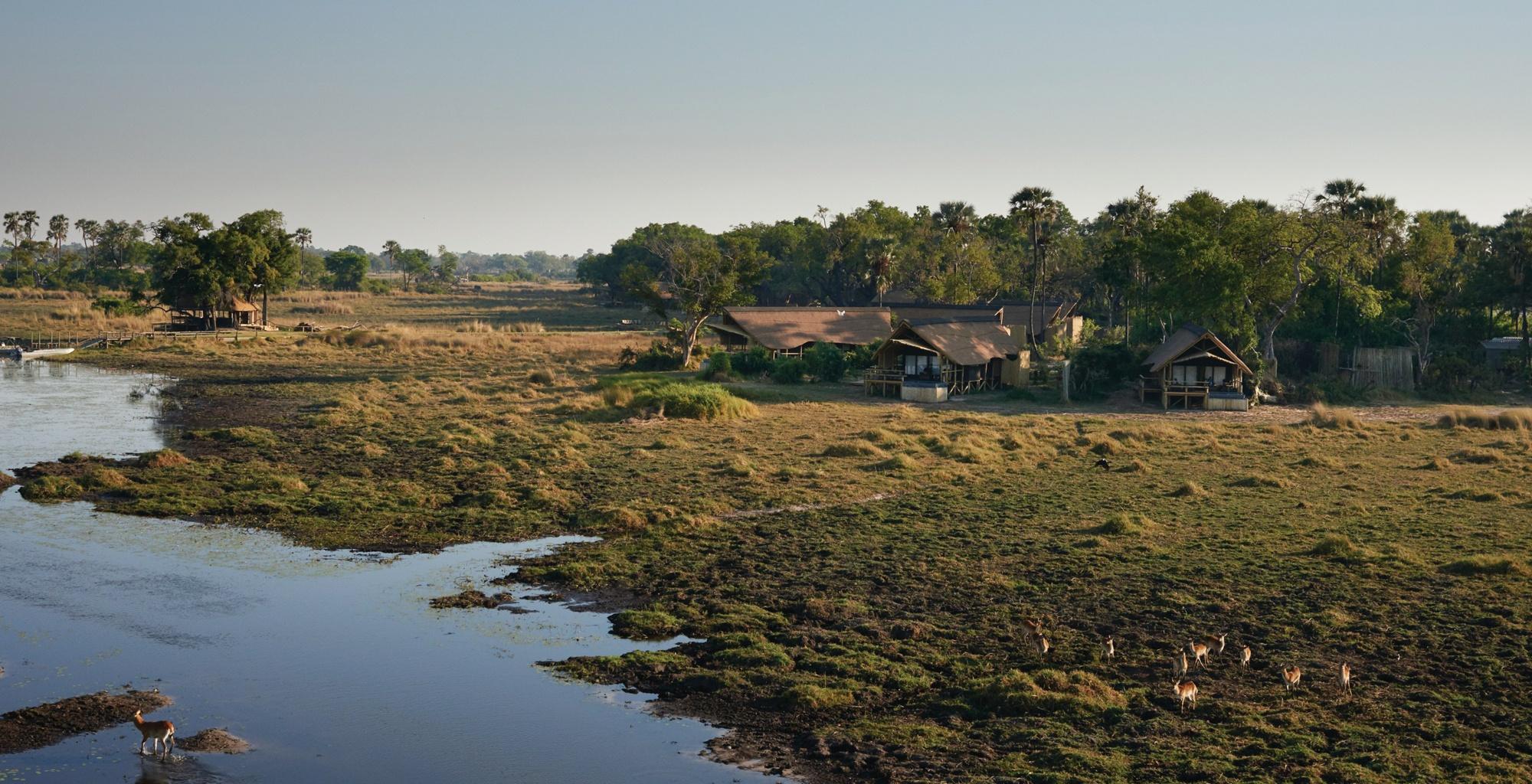 Eagle Island Camp In The Okavango Delta Botswana