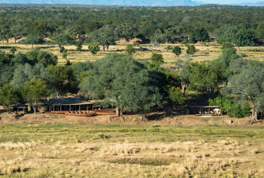 Zimbabwe-Ruckomechi-Aerial