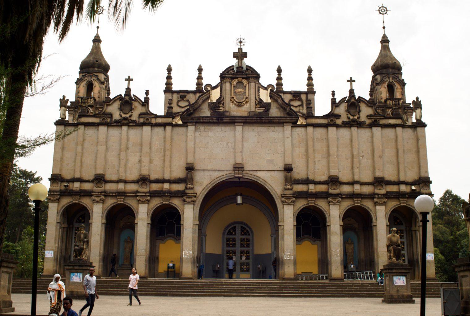 Holy Trinity Cathedral Addis Ababa Ethiopia 2017