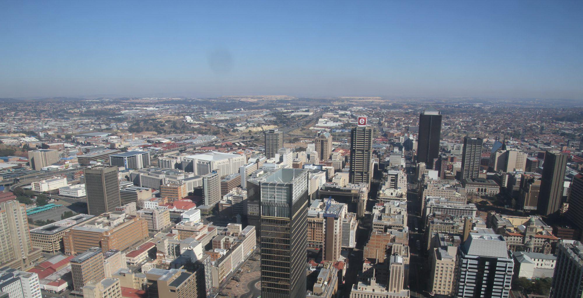 South-Africa-Johannesburg-Pretoria-Aerial