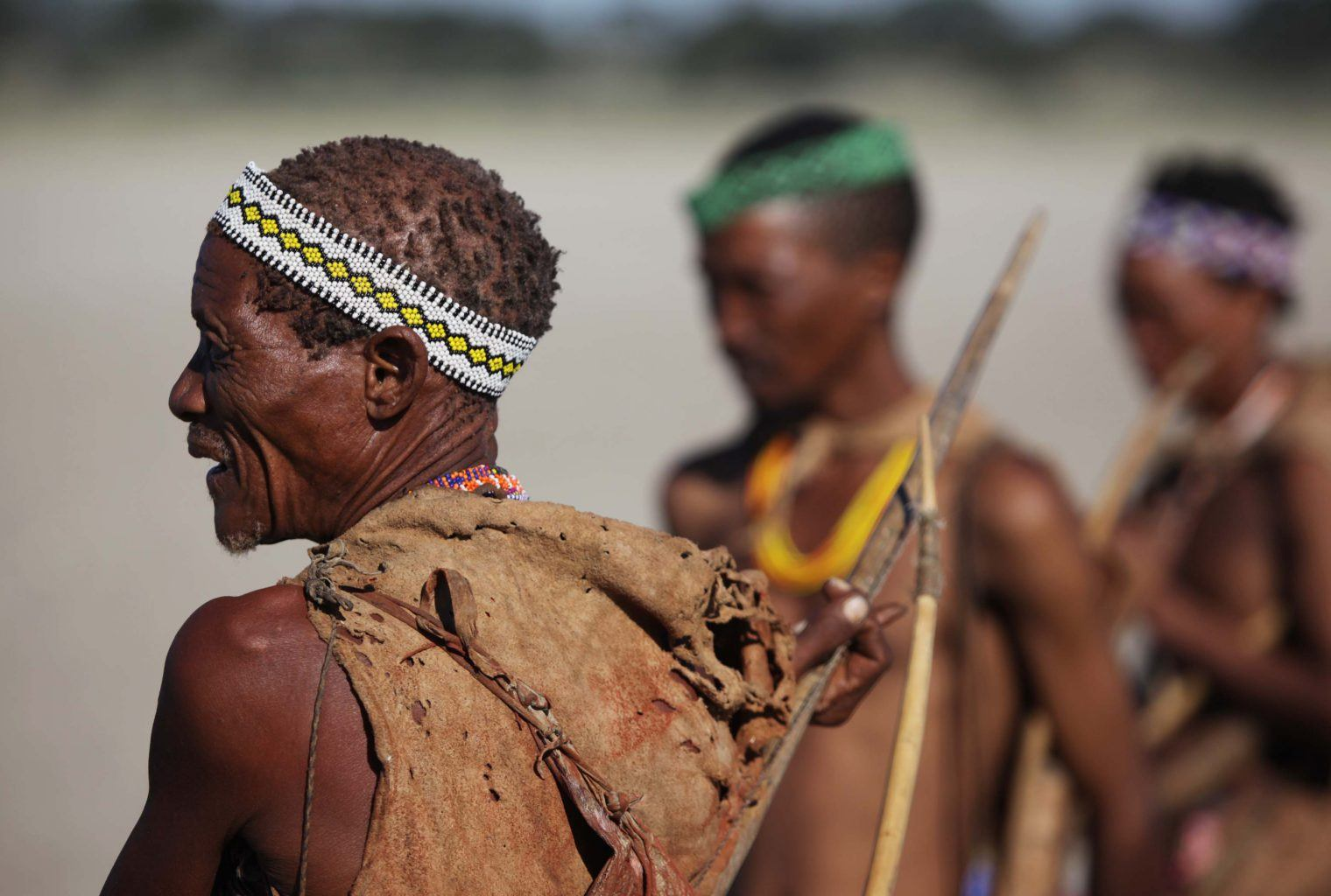 the culture of the bushmen of the kalahari Geographical location: kalahari desert, botswana, africa climactic description: the land receives about 8 inches of rain per year temperatures vary from 10-115f winters are freezing and summers are burning hot.