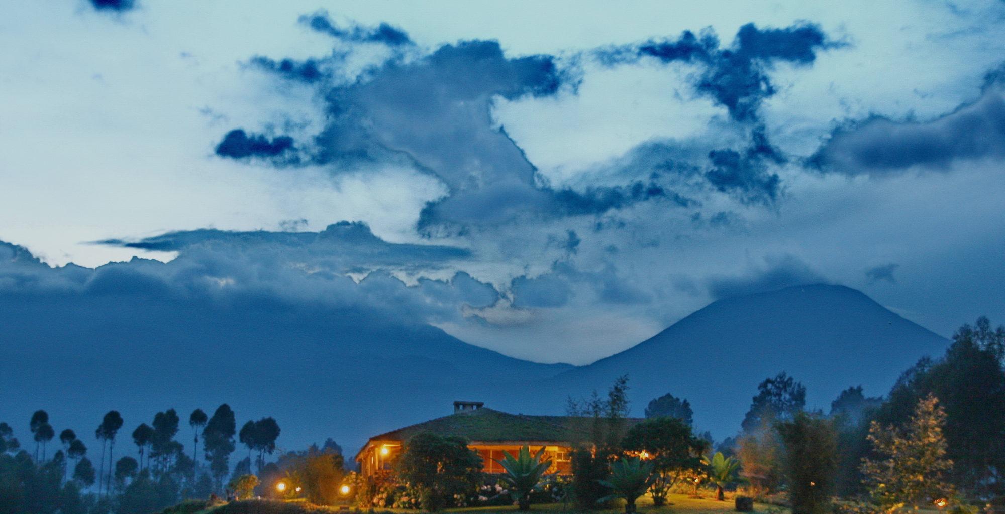 Jack Hanna Guesthouse Rwanda View Evening