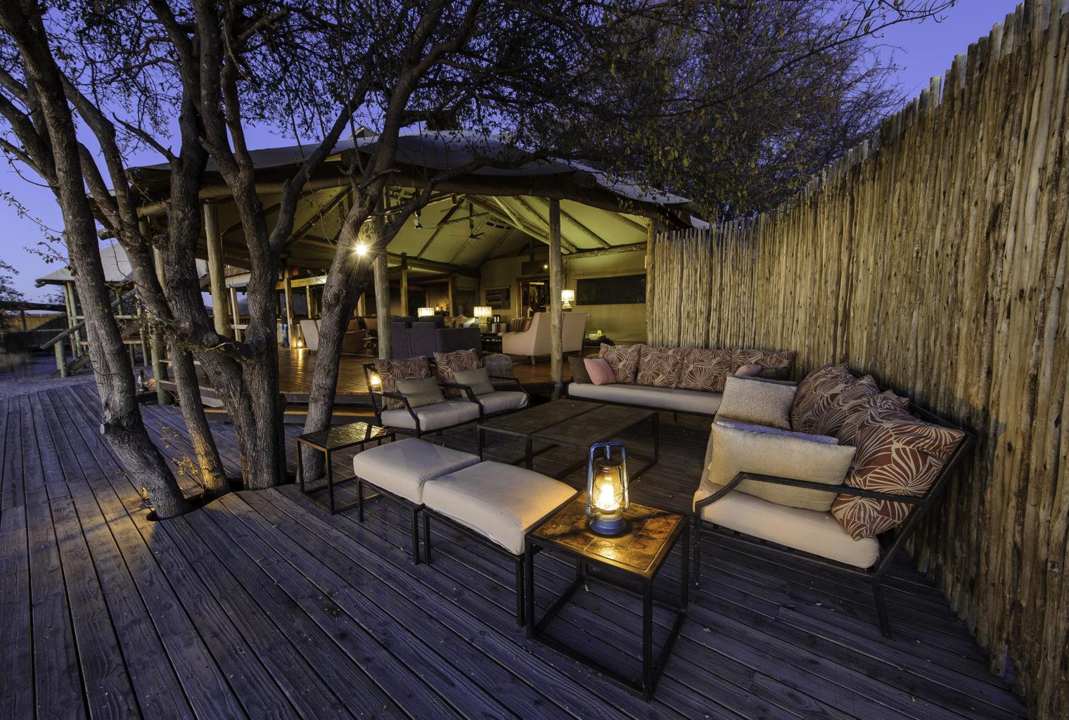 Kalahari Plains Camp Lounge