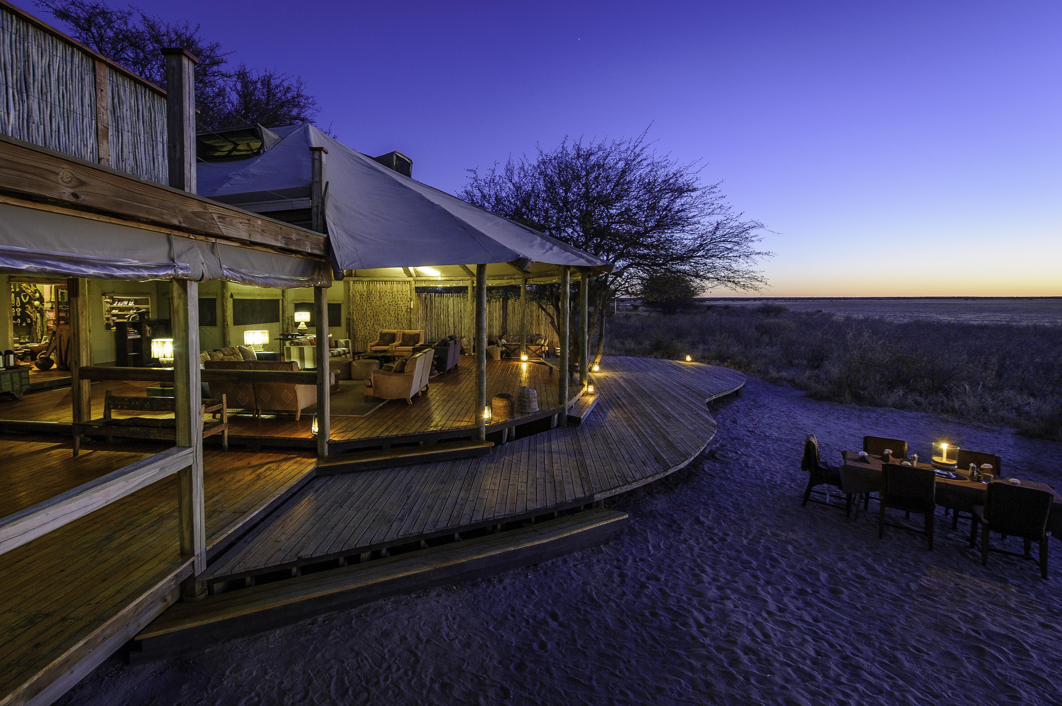 Kalahari Plains Camp Exterior