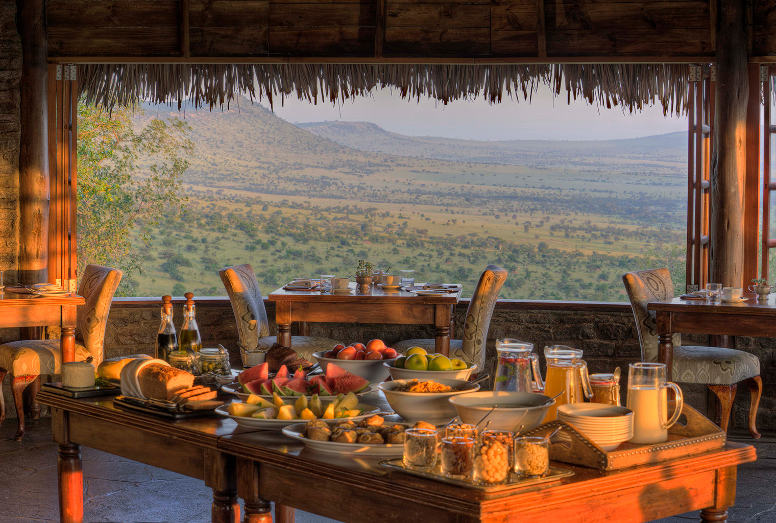 Kleins-Camp-Tanzania-Food-View