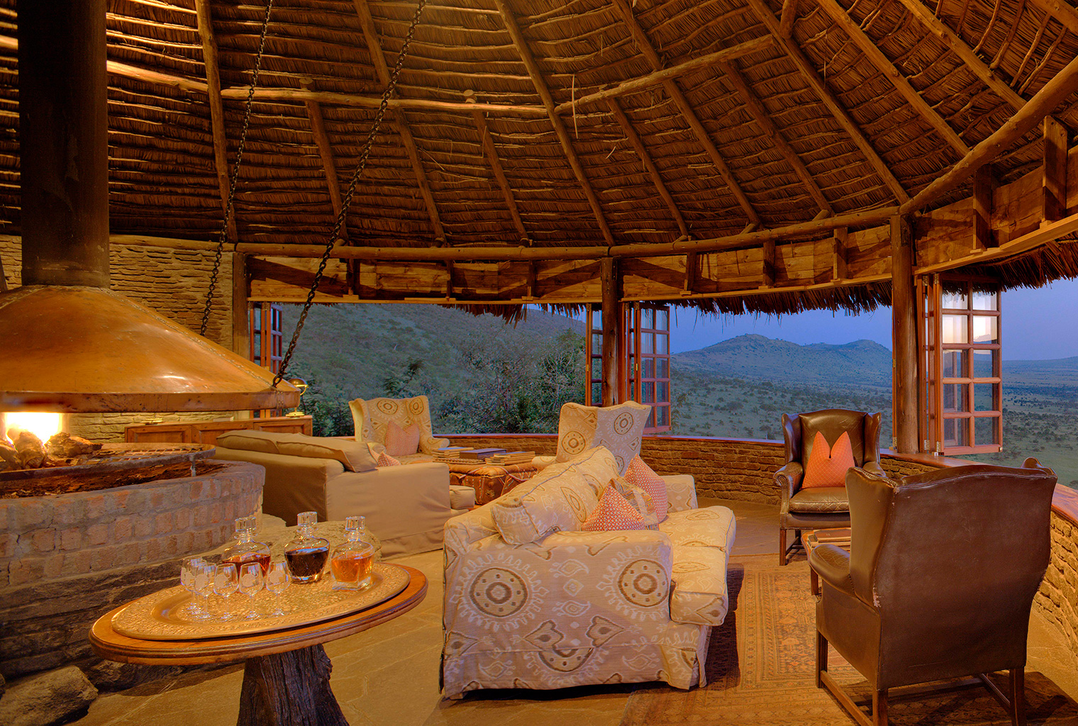 Kleins-Camp-Tanzania-Lounge