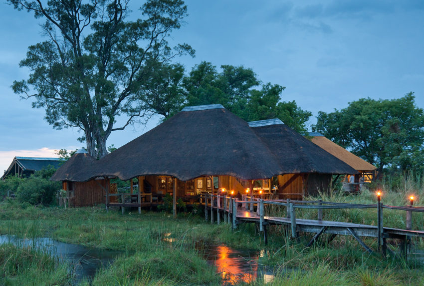 Kwando-Lebala-Camp-Exterior
