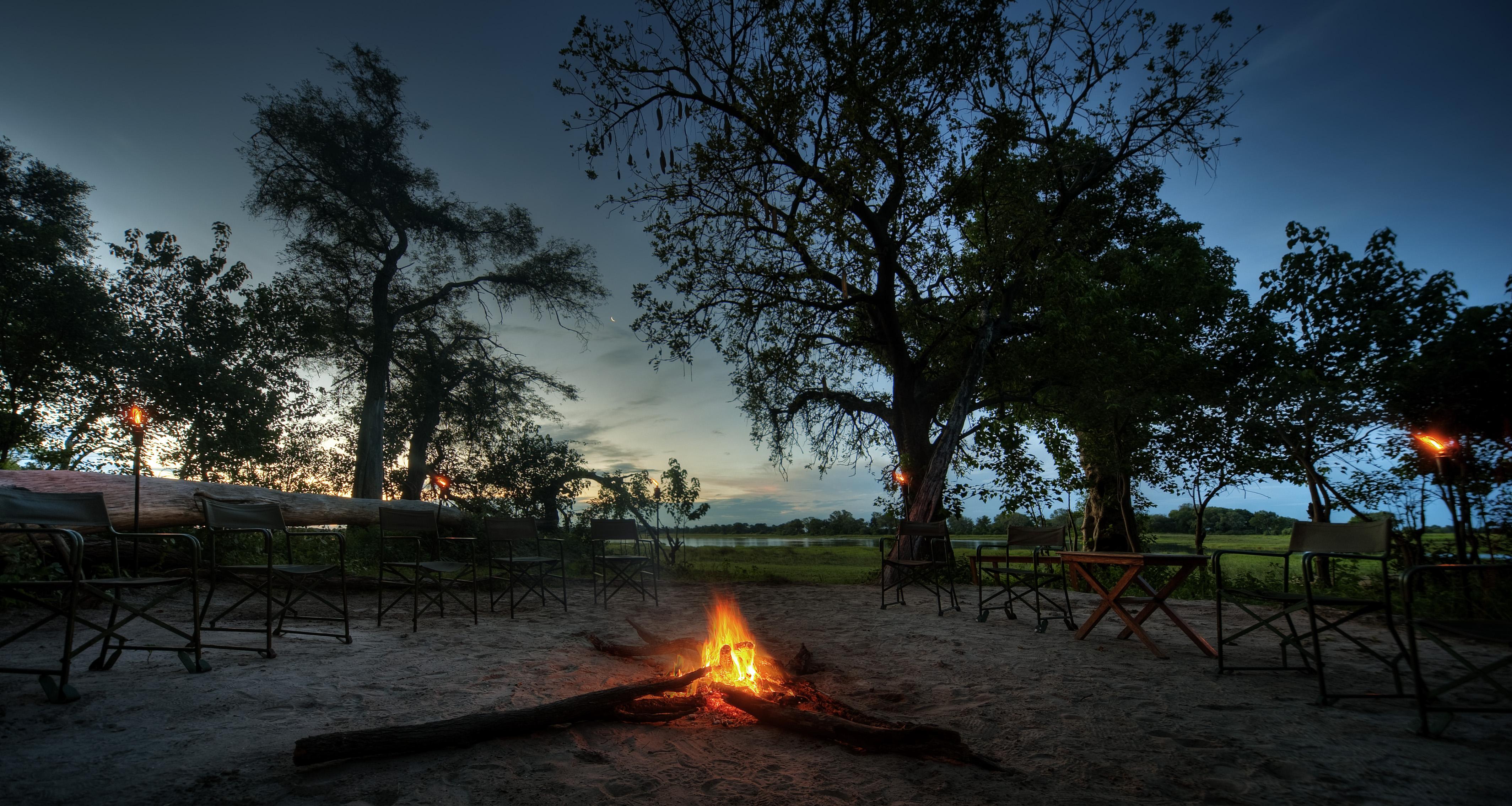 Kwara-Camp-Botswana-Camp Fire