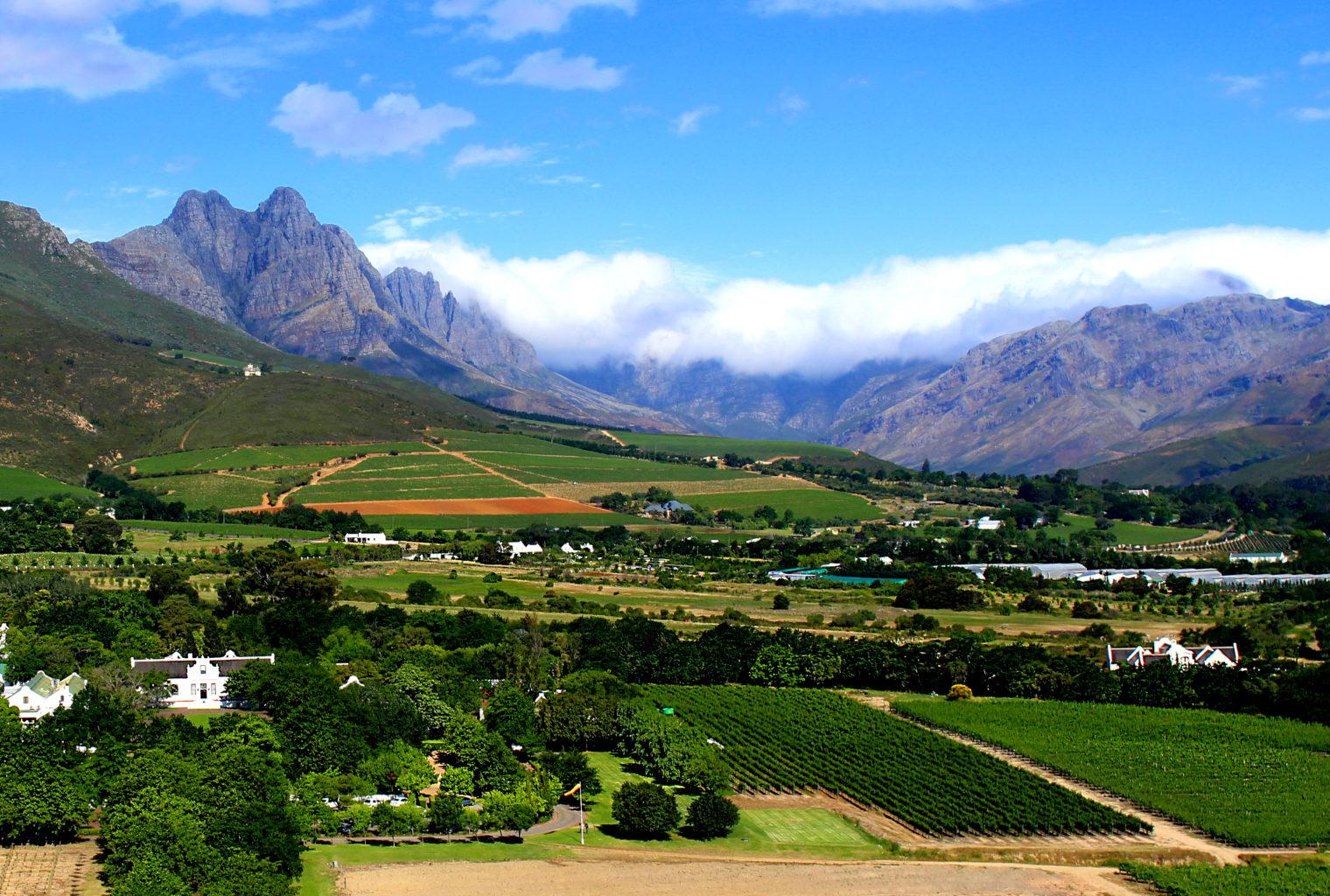 Lanzerac South Africa Views