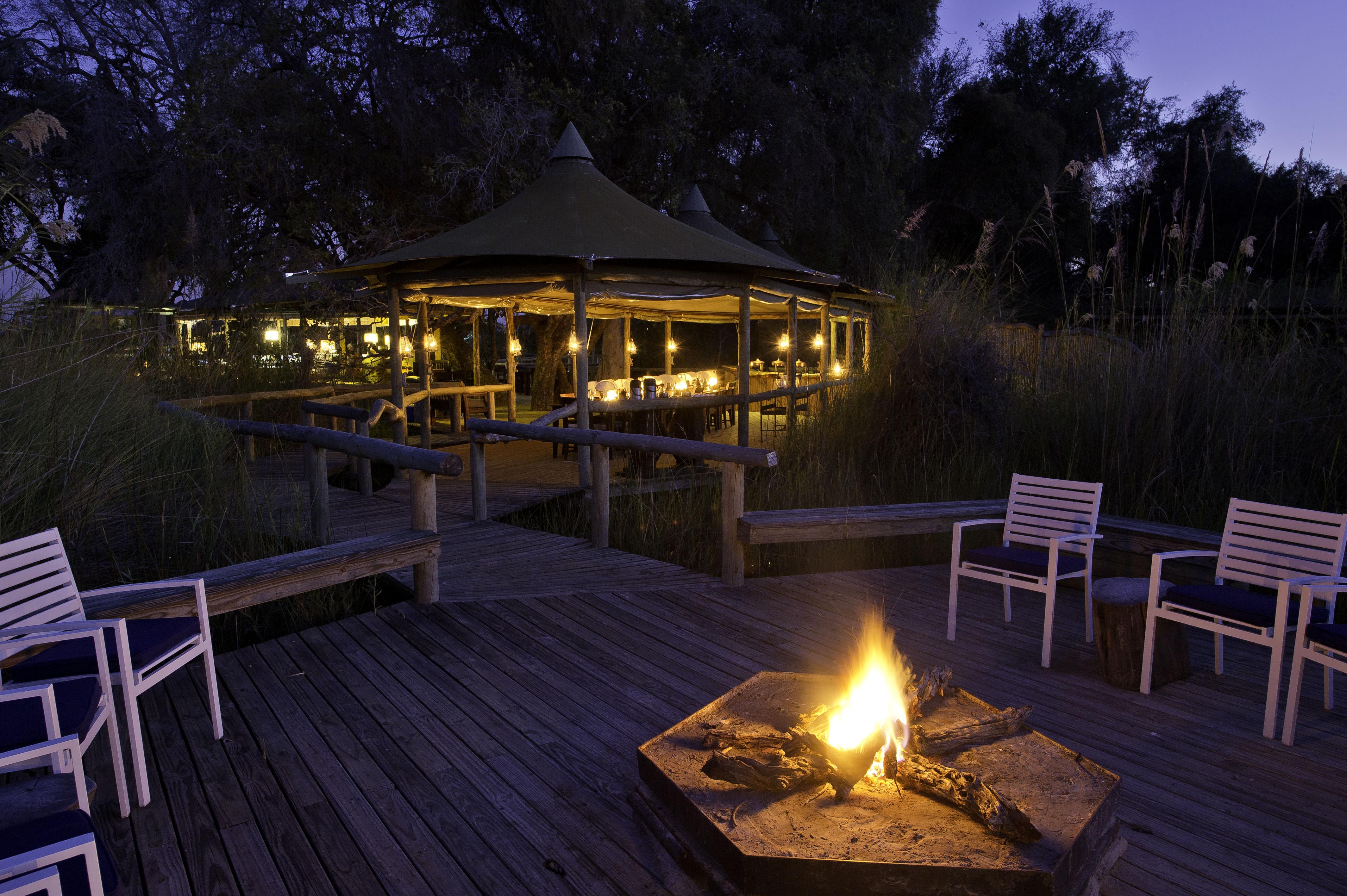 Little Vumbura Botswana Sunset