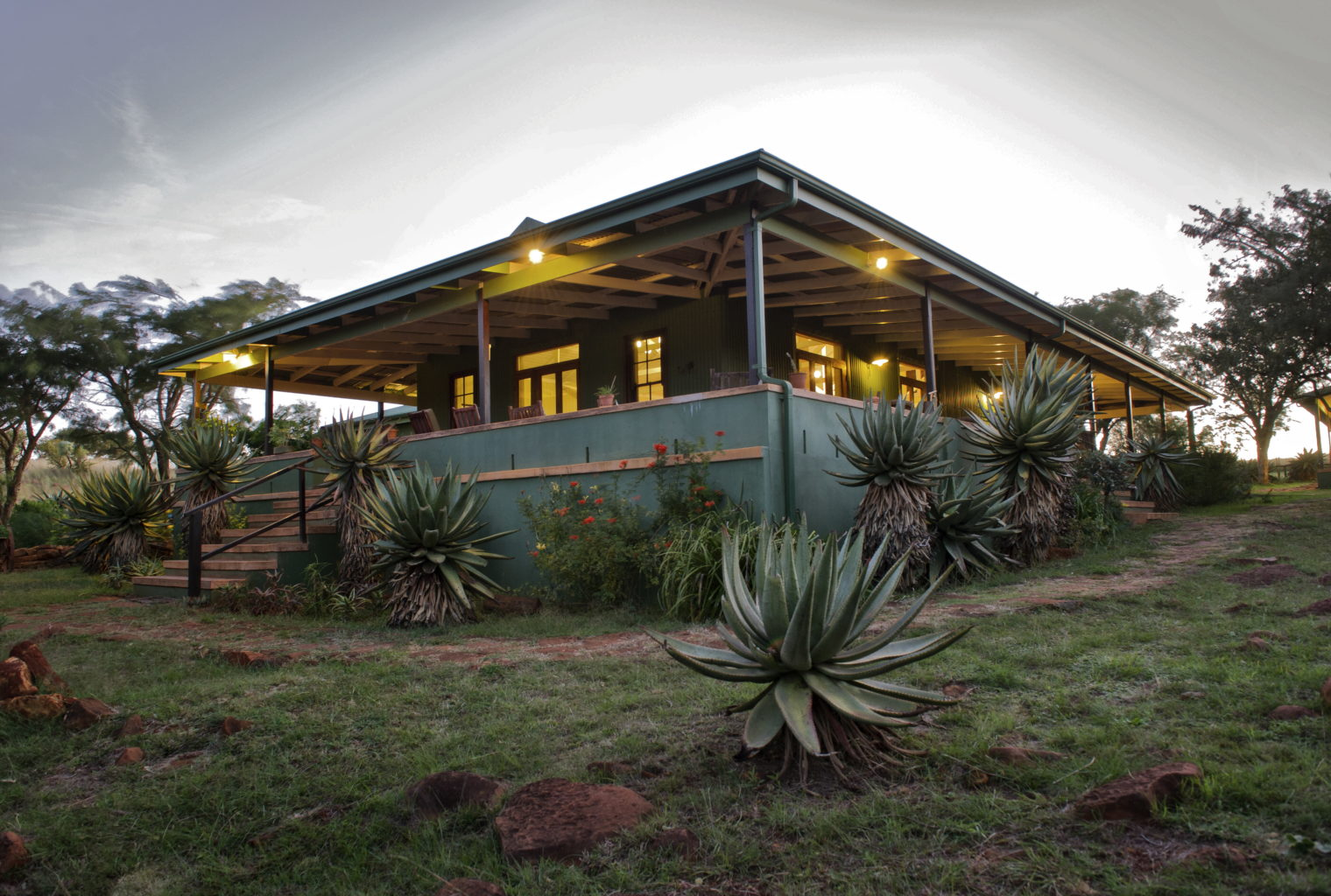 Three Trees at Spioenkop South Africa Exterior