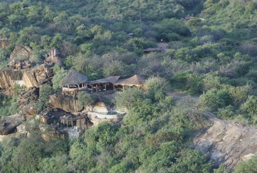 Tassia Lodge Kenya Aerial