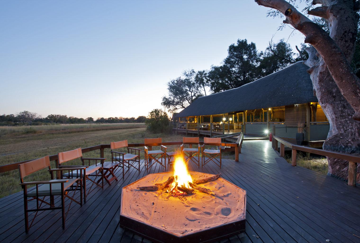 Chitabe Ledibe Camp Botswana Fire Pit