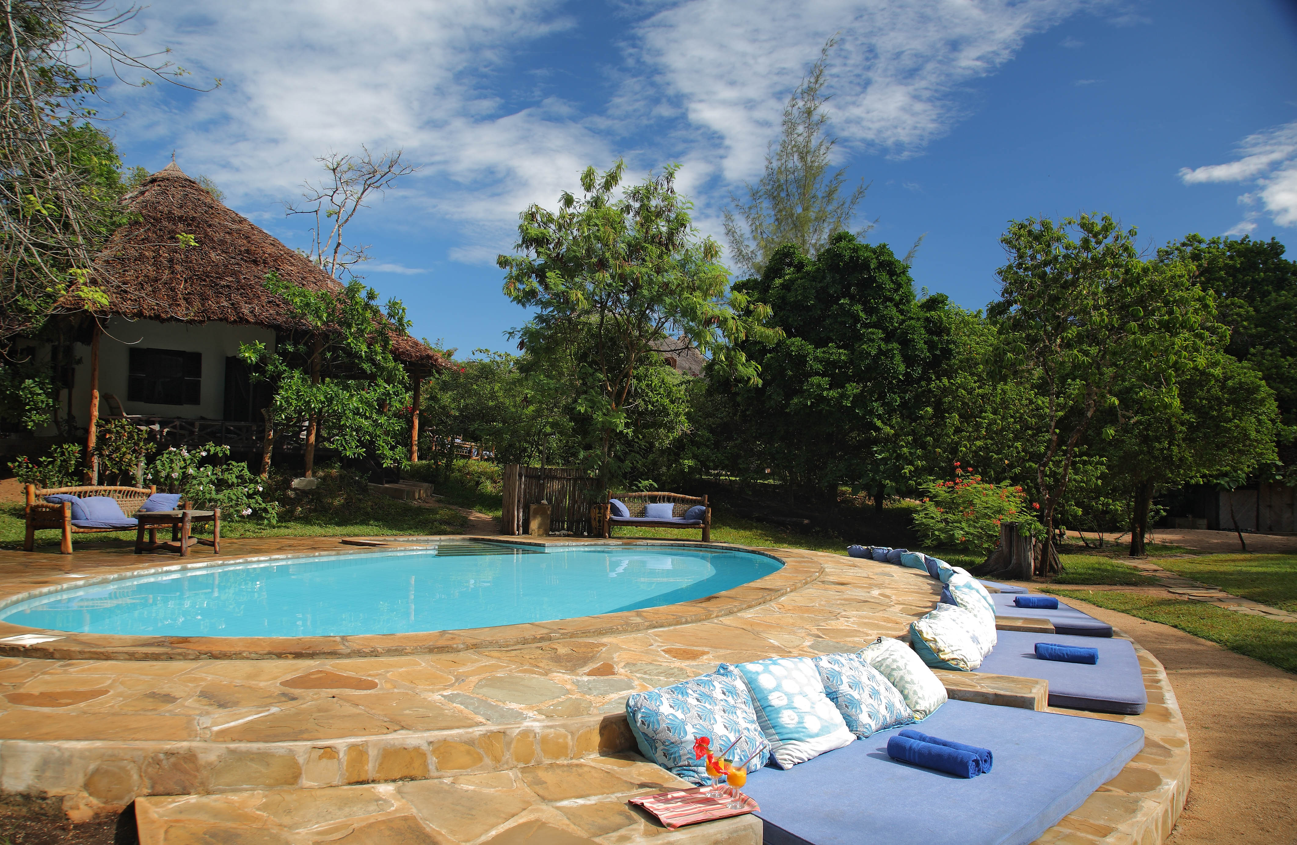 Kindondo Kwetu Resort Kenya Pool