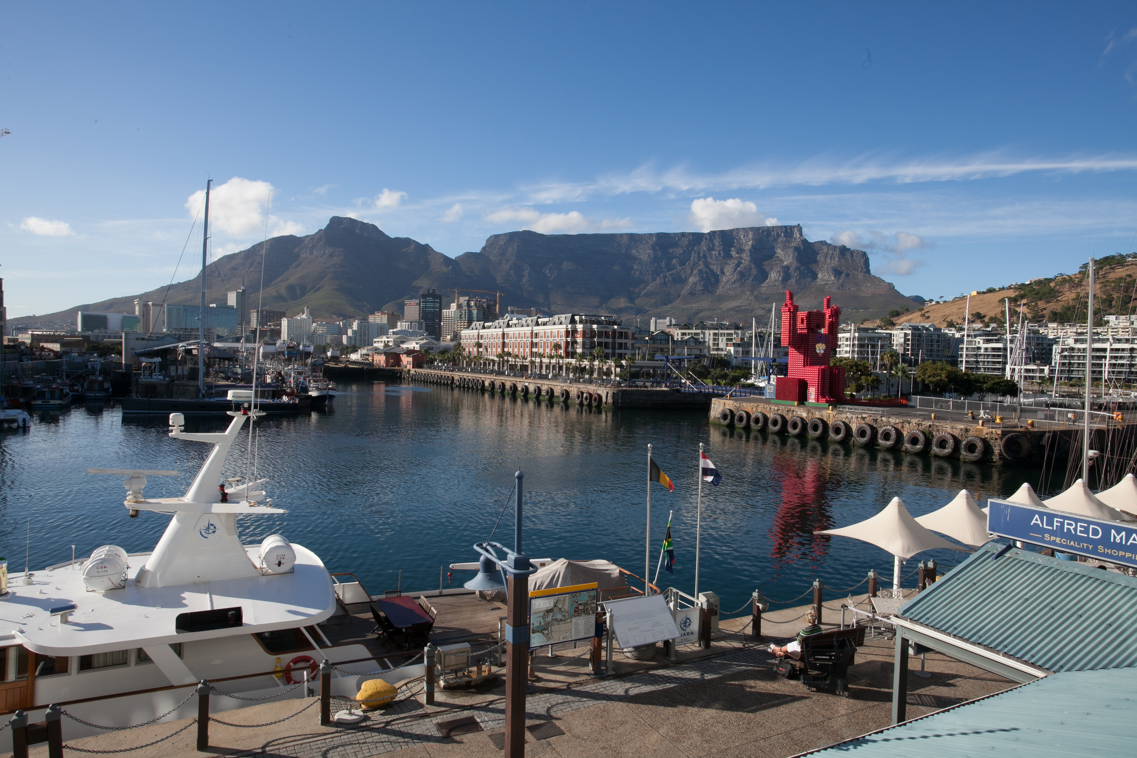 Victoria and Alfred Hotel South Africa View
