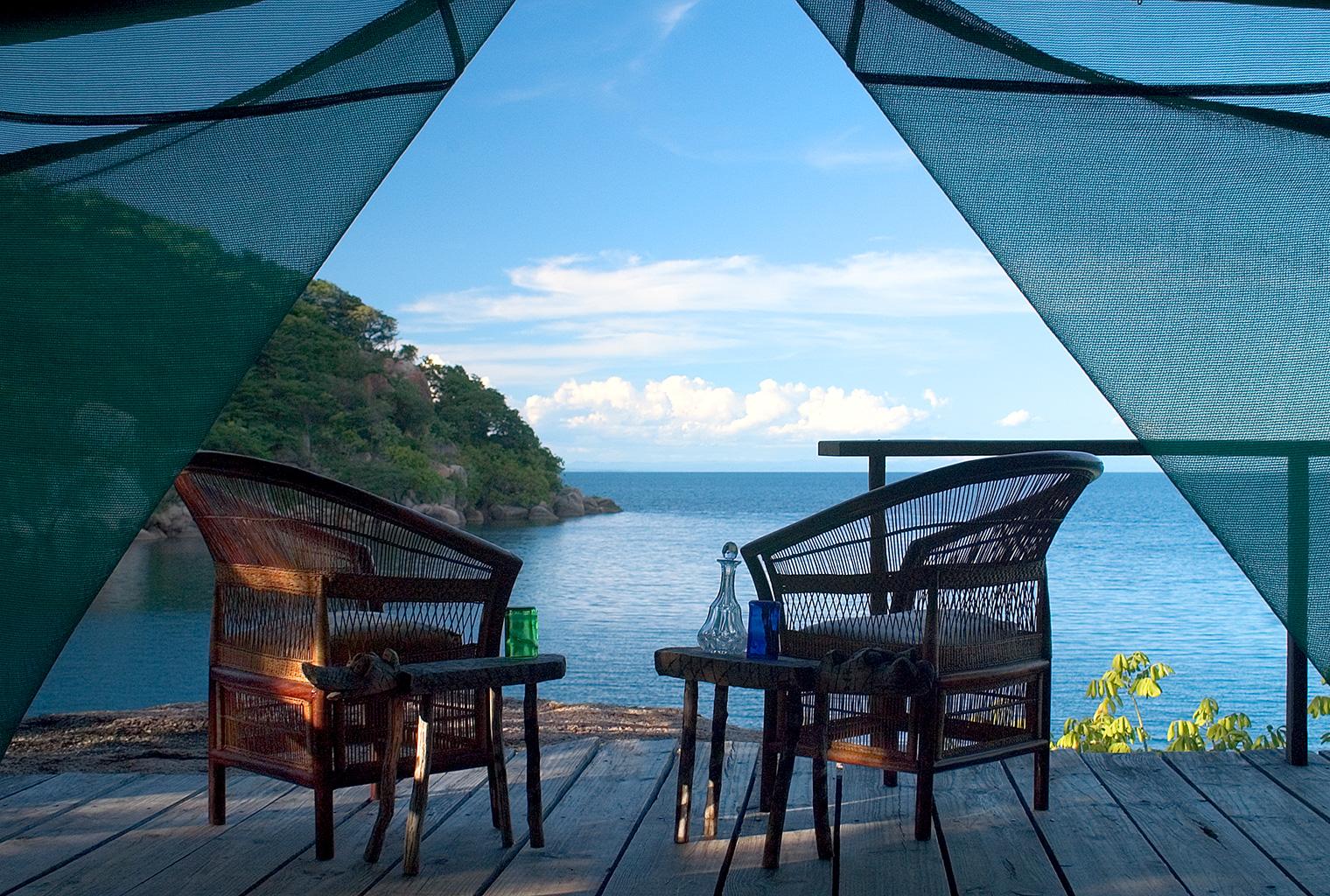 Mumbo-Island-Lodge-Malawi-View-from-Tent