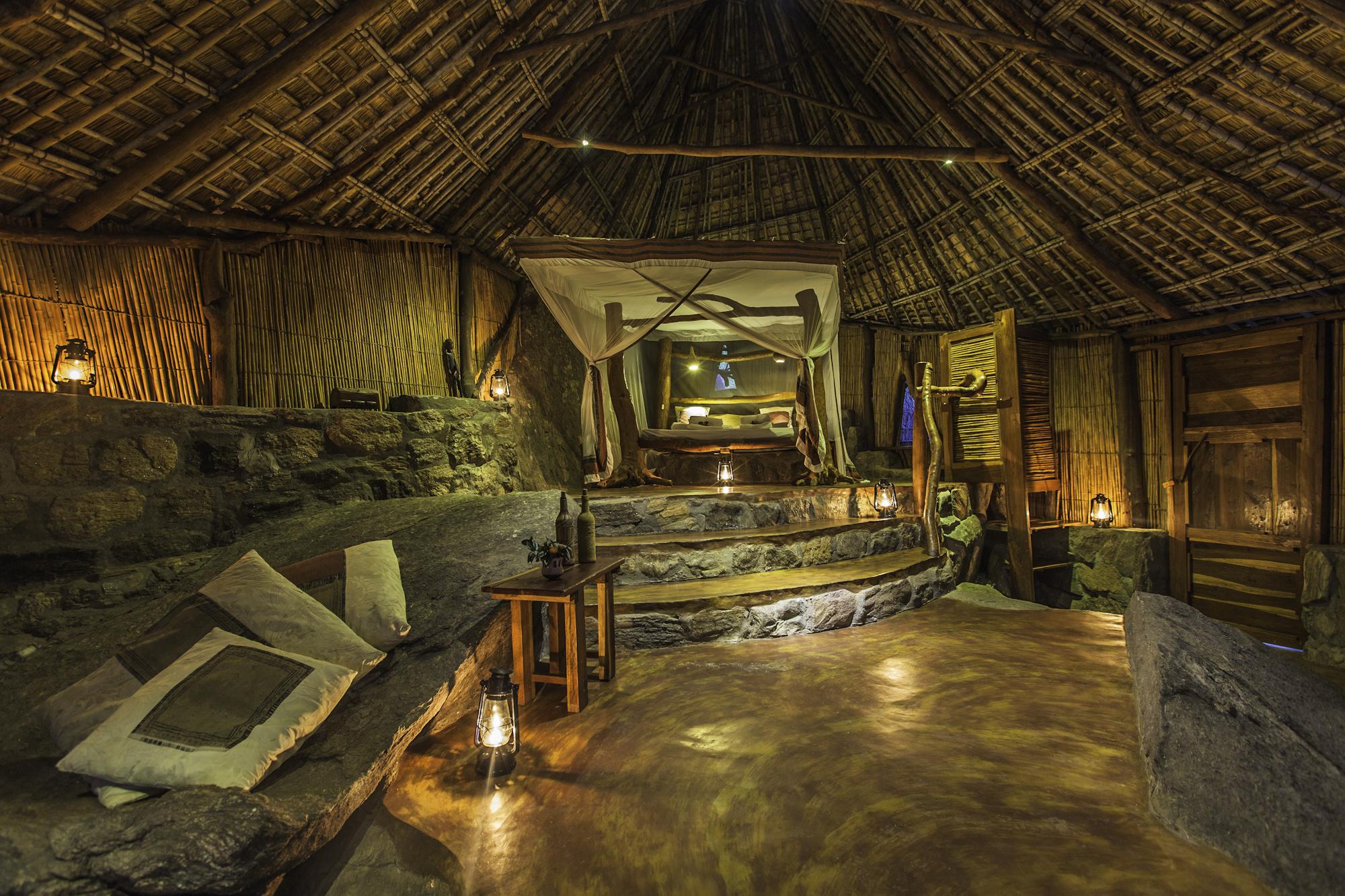 Nkwichi Lodge Malawi Interior