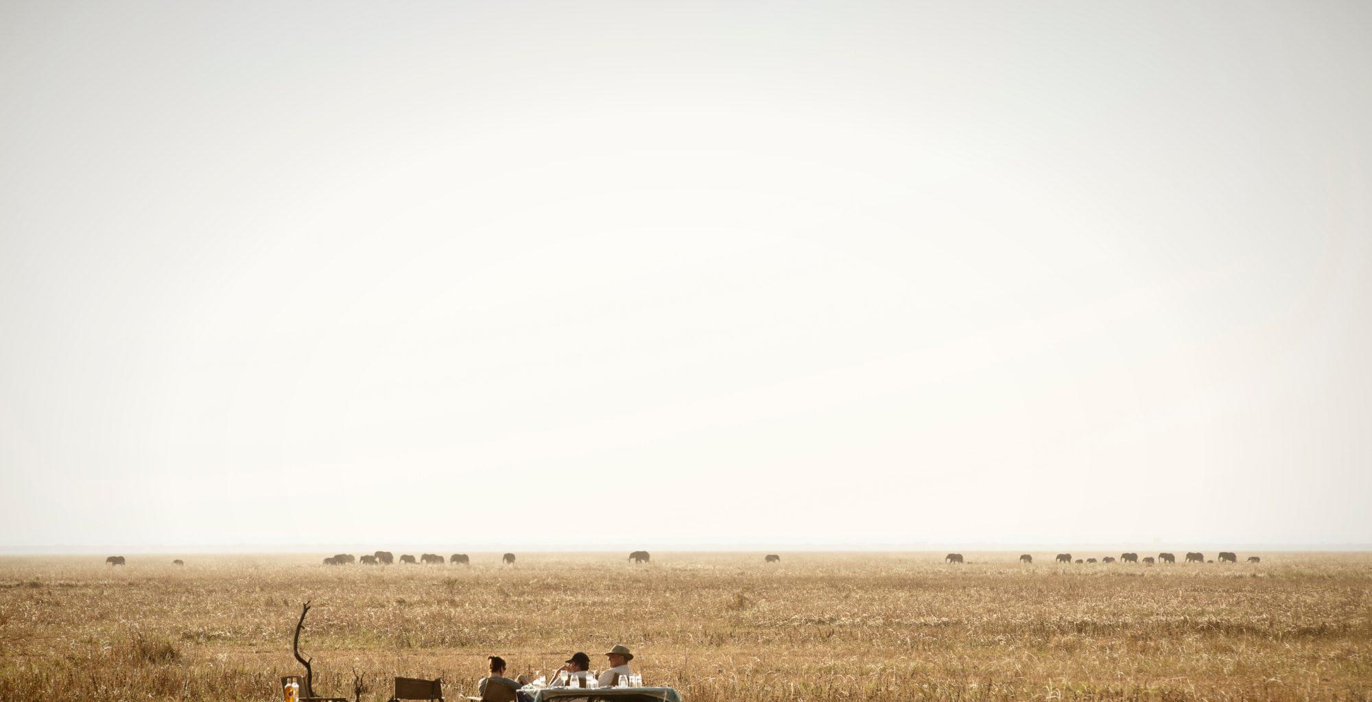 Nomad Flycamping Tanzania