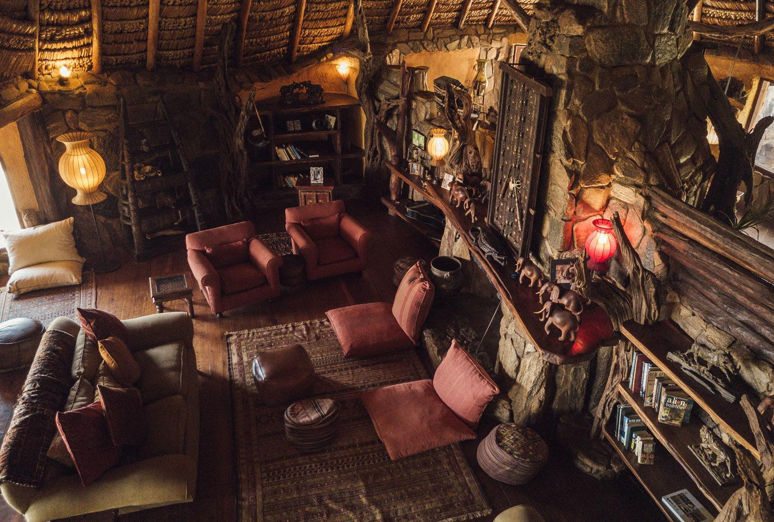 Kenya Laikipia Ol Malo Living Room