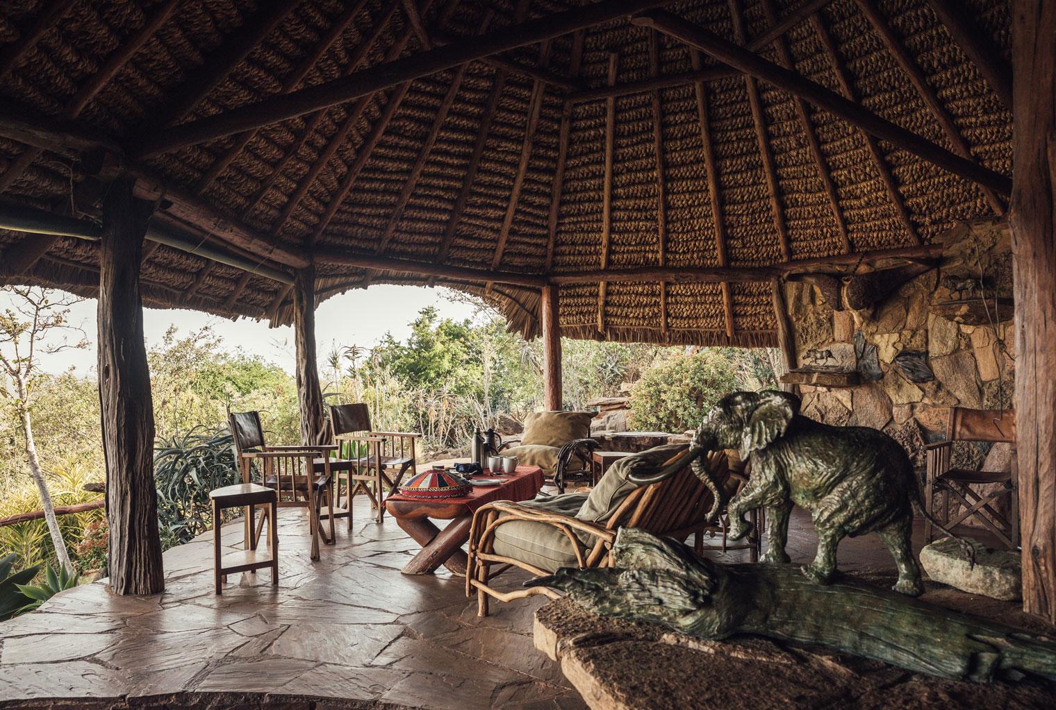 Kenya Laikipia Ol Malo Deck