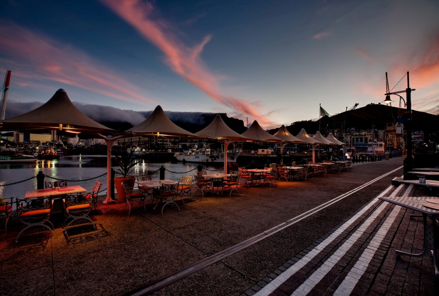 Victoria and Alfred Hotel South Africa Sunset