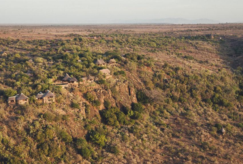 Ol_Malo.Lodge Aerial Kenya