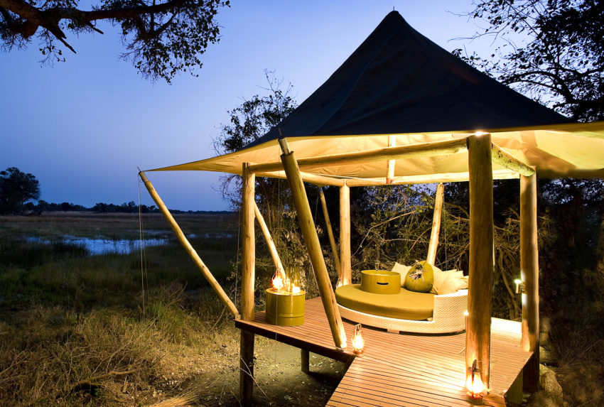 Outdoor Guest Area &Beyond Xaranna Botswana
