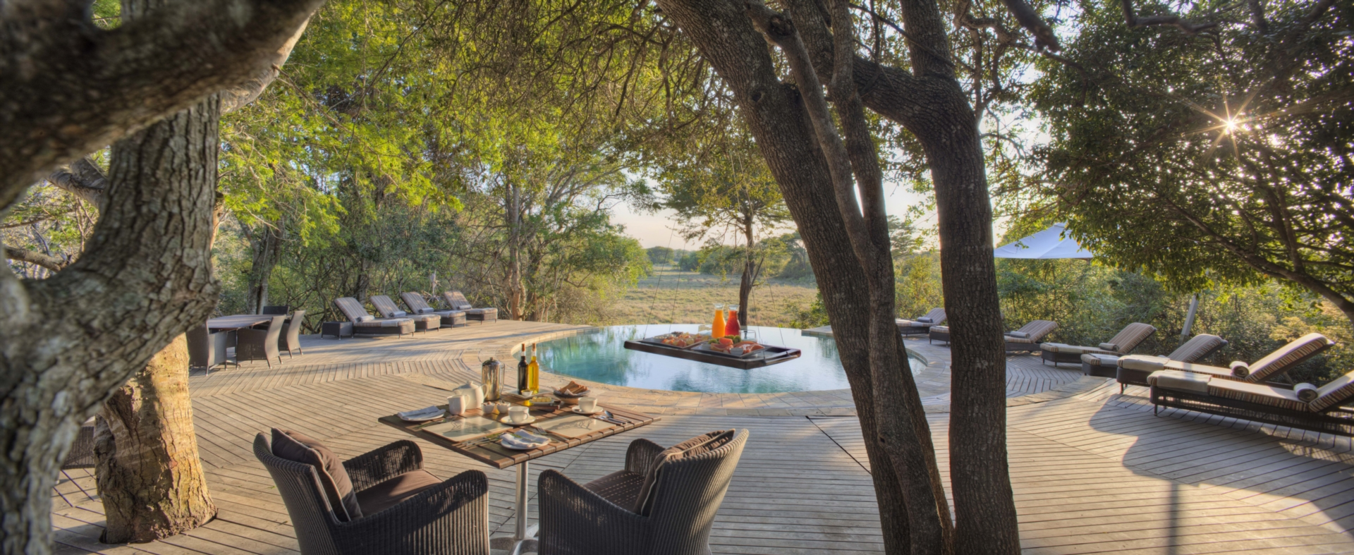 Phinda Forest Lodge South Africa Pool Area