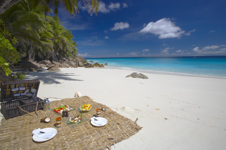 Fregate Island Seychelles Beach Picnic