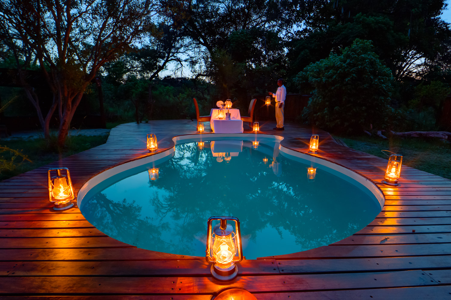 Kanana Camp Botswana Pool