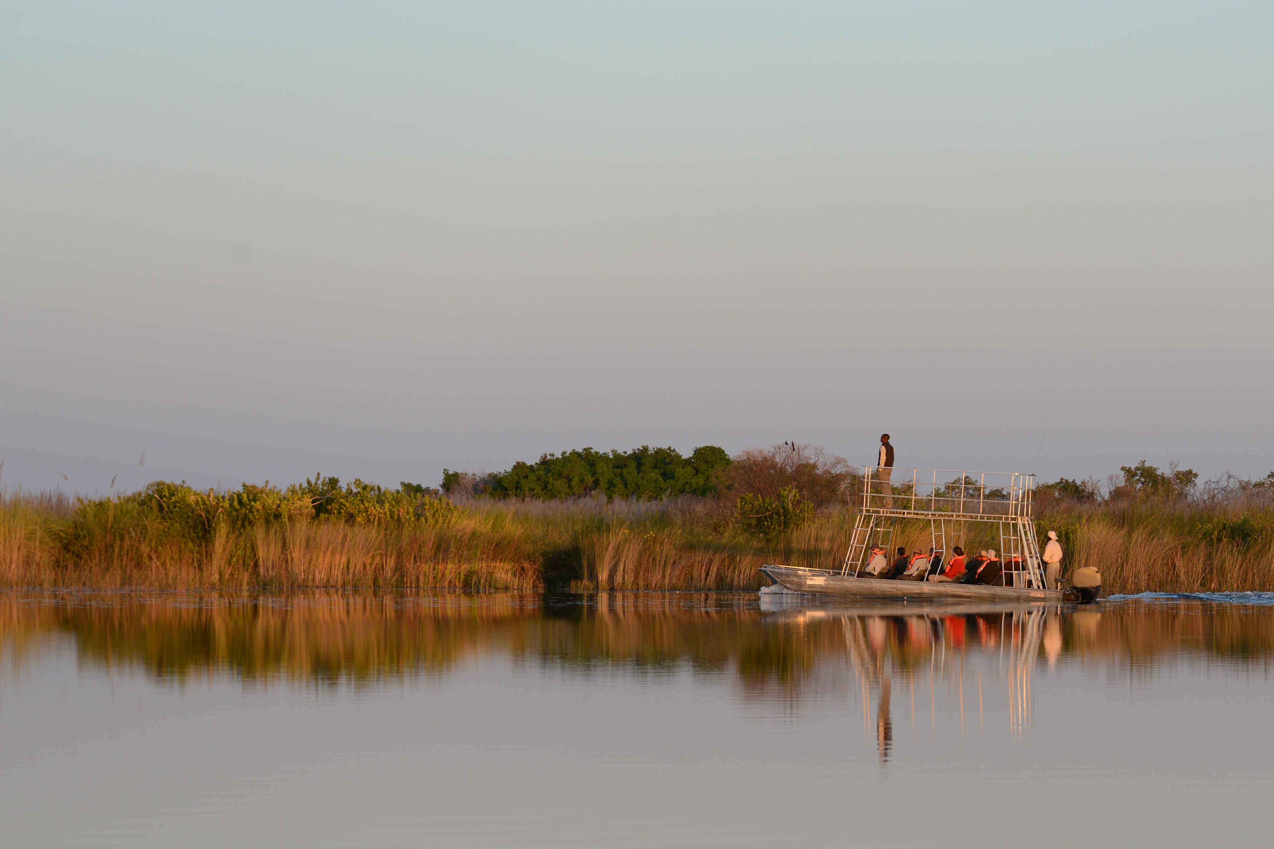 Little Kwara Camp Botswana River